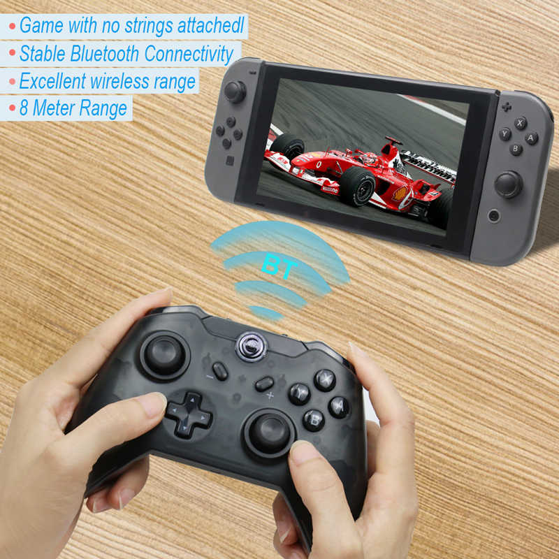 Wireless Bluetooth Controller Remote Gamepad For Nintend