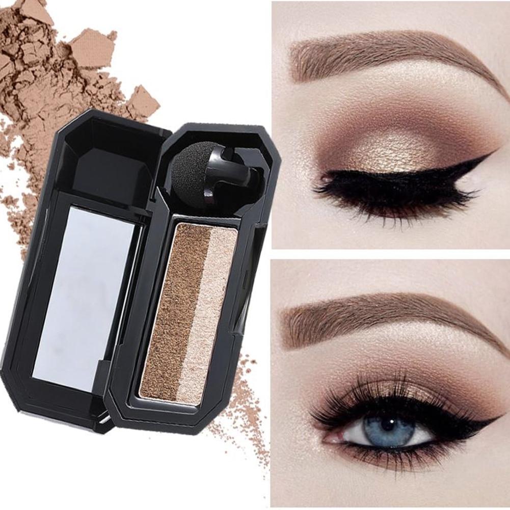 Popfeel Women 40 Colors Eyeshadow Matt Light Pearl Color Eyeshadow Eye Power Pastel Color Eyeshadow Beauty Essentials Eye Shadow