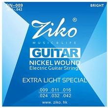 Elixir 12002 NANOWEB .009-.042 Electric Guitar strings bagian gitar Gratis Pengiriman grosir