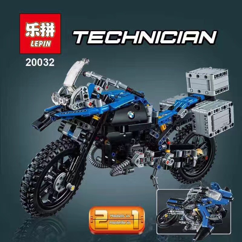 Lepin building blocks technician series motorcycle educational toys BOY Gifts 20032 Technic car Compatible 42063 lepin 21004 technic series f40 sports car building blocks bricks educational toys for children gifts compatible 10248