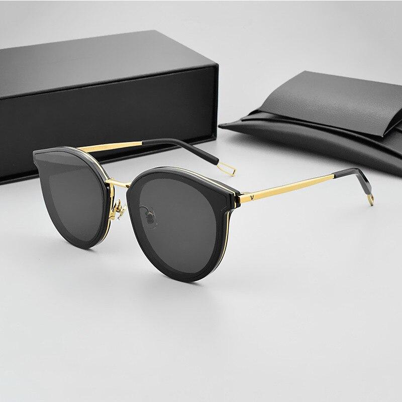 2018 marque De luxe Designer V corée nouvelles lunettes De soleil toniques Vintage hommes lunettes De soleil femmes miroir lentille UV400 Gafas Oculos De Sol