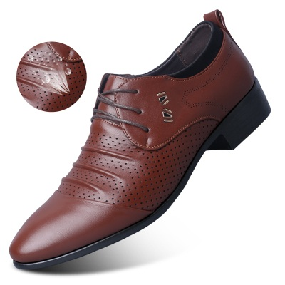a728c0672e4e US $22.07 49% OFF British Tide Shoes Sports Male Youth Pointed Leather  Shoes Man Formal Wear New Men Shoes Danc Breathable Tidal Current-in Dance  ...