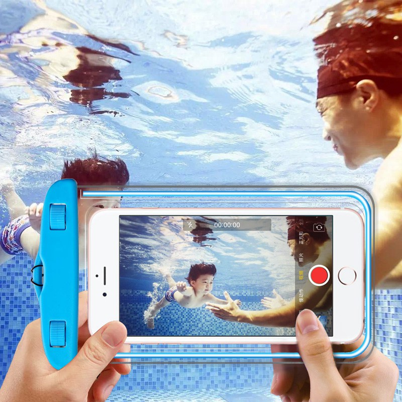 Waterproof Case for Samsung Galaxy S9 S8 S7 S6 Edge Bag PVC Silicone Cover Max 6 Inch Pouch for Samsung A5 A3 J3 J5 2016 2017