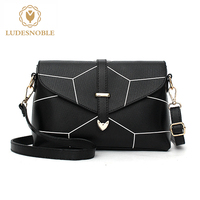LUDESNOBLE Designer Handbags Women Bags Women Leather Handbags Women Famous Brands Shoulder Bags Women Bag Female
