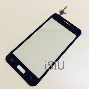 Image 2 - 4.5 شاشة إل سي دي باللمس شاشة لسامسونج غالاكسي كور II 2 Duos SM G355H G355 G355H لمس لوحة الجبهة زجاج الهاتف أجزاء