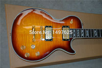 free Shipping 2015 New Lp Custom Electric Guitar/double cscolor/oem Brand Guitar In China