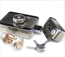 Electric Control Lock Electronic Magnetic Door Lock For 12V DC Access Control System Video Intercom Door Phone System