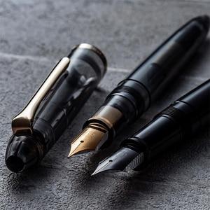 Image 4 - Orignal סיילור מזרקת עט KUROGANE JUNIOR נירוסטה ציפורן אפור שחור שקוף עט מכתבים למשרד בית ספר 2020