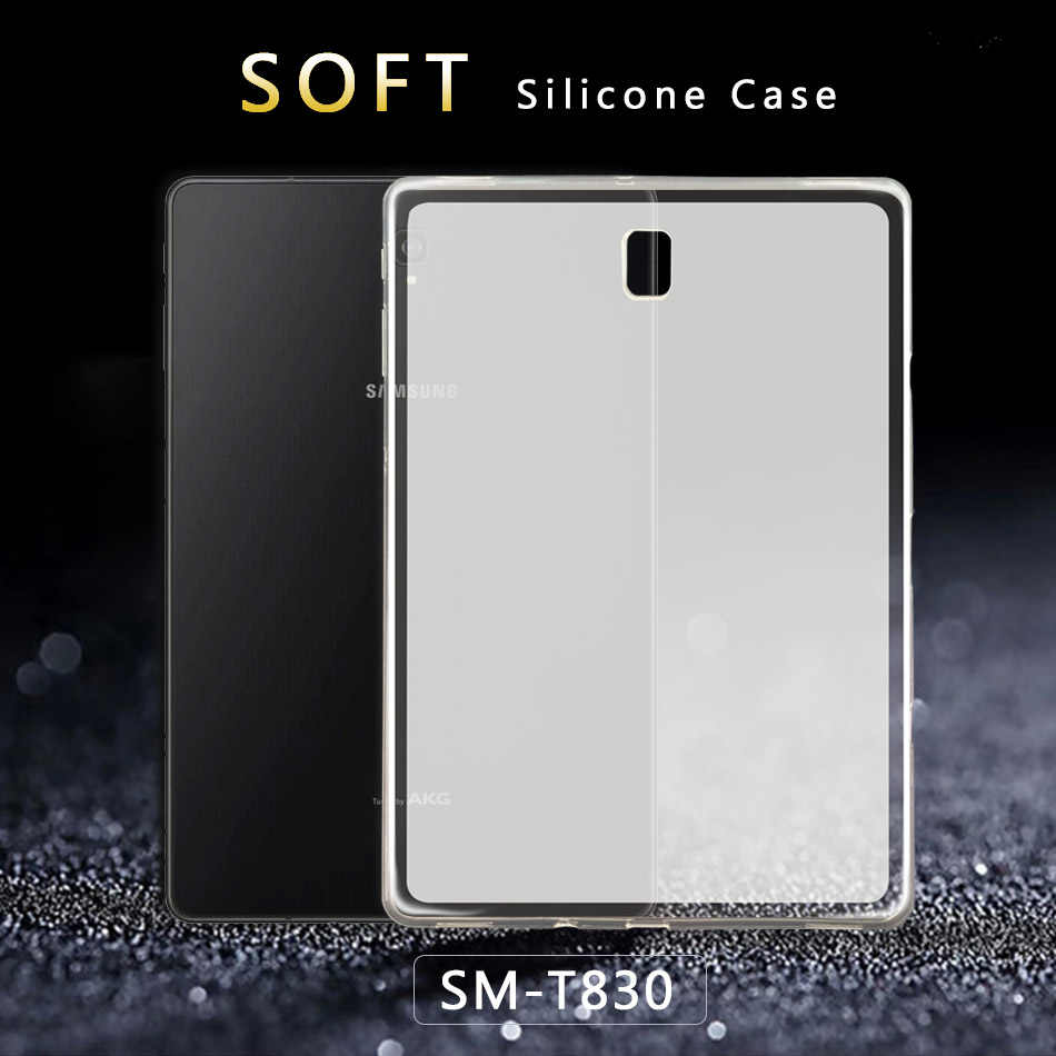 Untuk Samsung Tab 4 S2 S3 8.0 9.7 S4 S5e 10.5 SM T710 Yang A6 10.1 2019 E 9.6 T580 T560 T590 T510 T830 P200 Tablet Cover