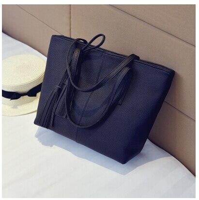 Women&#8217;s fashion handbag fashion tote bag brief fashionable casual one shoulder <font><b>big</b></font> bag shopping s-596998Q2