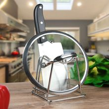 Kitchen good assistant Stainless steel kitchen with a single lid Storage rack Chopping board shelves