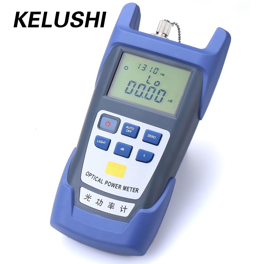 KELUSHI FTTH Fiber Optique Power Meter DXP-40D Fiber Optique Cable Tester-70dBm ~ + 10dBm SC/FC Connecteur