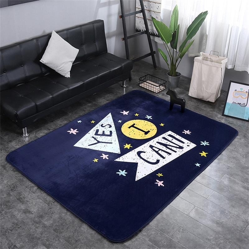 150X200CM Letters Carpet Livingroom Home Decoration Bedroom Rug Soft Carpets Kids Room Sofa Coffee Table Floor Mat Study Rugs