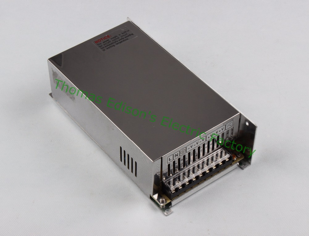 DIANQI switching power supply 600W 48V 12.5A  ac to dc power supply Input 110v ac dc converter  high quality S-600-48 ac 110 220v dc 48v power supply 48v 12 5a 600w ac dc high power psu 600w s 600 48