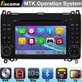 MTK3360 Car DVD Automotivo For Mercedes Benz B200 B150 B170 A180 A160 Mercedes Benz A class W169 with Bluetooth Radio GPS Navi