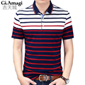 2017 Summer Fashion Men's Polo Shirt Men Short Sleeve shirt camisa High quality Polos homme casual clothing Plus size M-3XL
