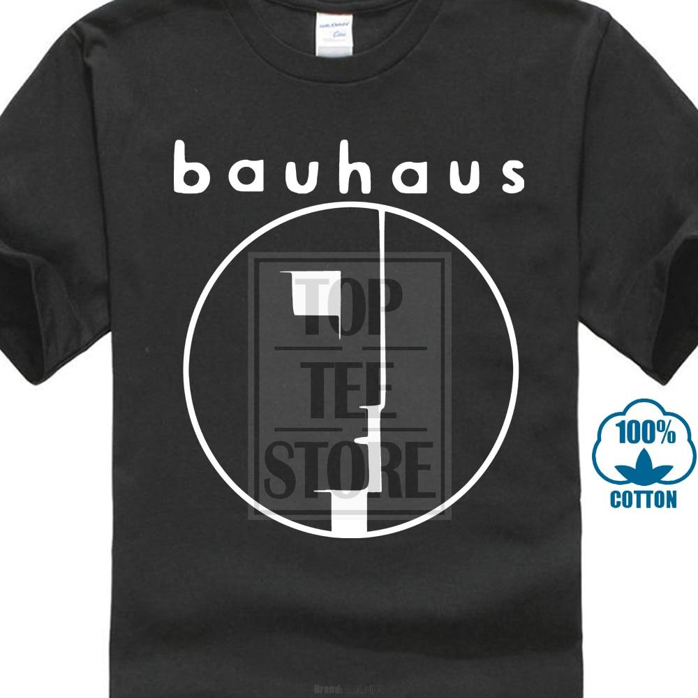 Bauhaus t-shirt Post Punk Gothique Rock Toutes Les 3D imprimer hommes 100% coton manches courtes t-shirts été populaire t-shirt