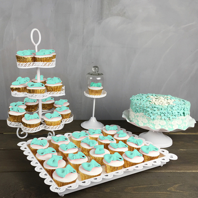 wedding cake cupcake pan aliexpress buy 4pcs wedding cupcake stand set cake 8603
