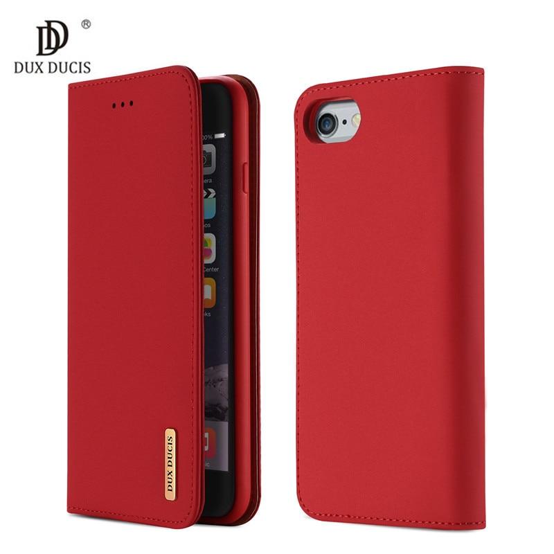 Galleria fotografica Luxury Flip PU Genuine Leather Case for iPhone 6 Cover 4.7