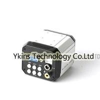 HD Digital 3 in 1 Industrial Microscope Set Camera Magnifier VGA USB AV TV Computer Video Output PCB Lab