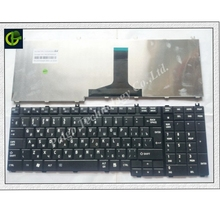 Новая русская клавиатура для ноутбука Toshiba Satellite A500 X200 X505 P200 P300 L350 L500 X500 X300 A505 A505D F501 L535 P205 P505 ру черный