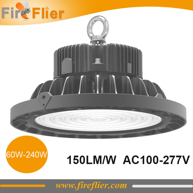2pcs 100w Ufo Low Bay Light Fitting 150w Warehouse Lamp