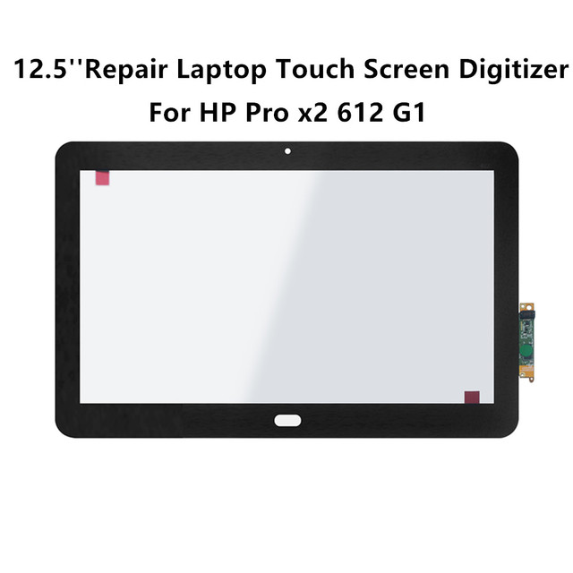 LCDOLED 12.5'' Repair Laptop Touch Screen Digitizer Glass Front Tablet For  HP Pro x2