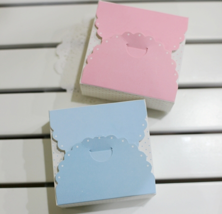 50 Mini Paper Cake Box,Christmas Wedding Box,For Macaron Gift ...