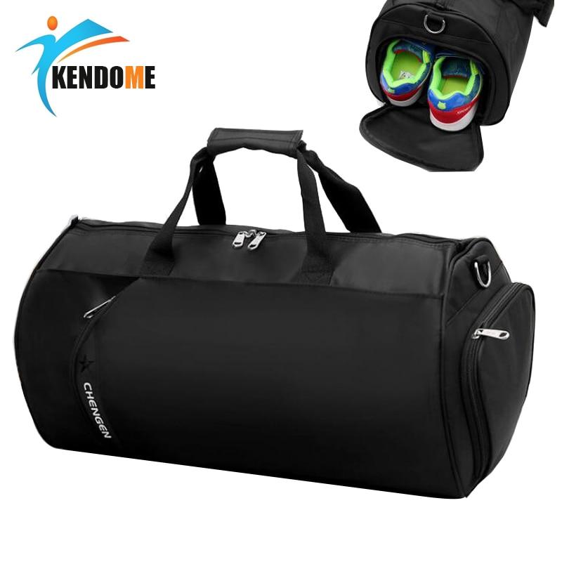 Hot Sport Bag Training Gym Bag Waterproof Durable Multifunction Handbag Women Men Outdoor Shoulder Bag Capacity Fitness Gym Bag