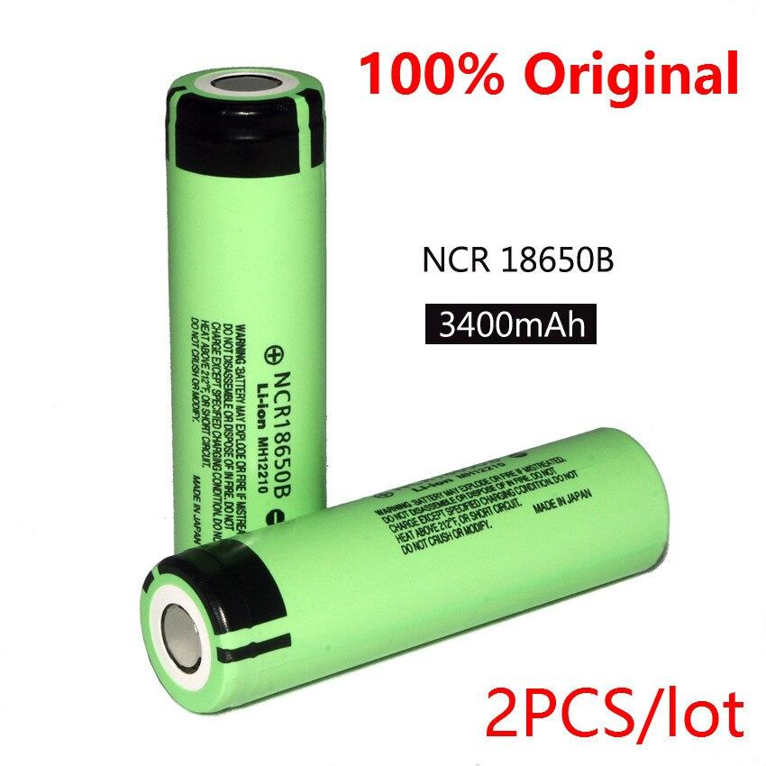2pcs-2016-100-new-original-18650-ncr18650b-3400mah-37v-li-ion-rechargeable-battery-free-shipping