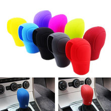 Universele Automatische Versnellingspook Knop Kragen Silicone Case Cover Voor VW Toyota Audi Suzuki Kia Buick Ford Auto Accessoires(China)