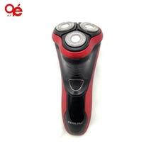 Новый Электронный Аккумуляторная Бритва Triple Blade 3 Сегмент Электрический Бритья Бритвы Мужчины Уход За Кожей Лица 3D Плавающей бесплатная доставка