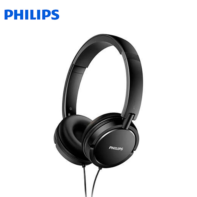 Headphones Philips SHL5000 earphones on-ear+headphone 2017 new cute glow cat ear headphones for girls led cat ears headphone children luminous gaming headset with lights casque audio