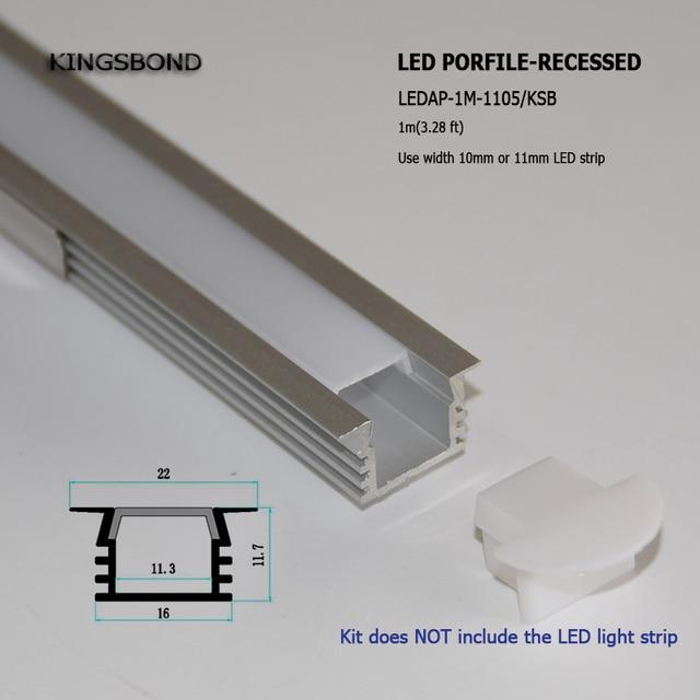 Fantastisch Wie Man Eine Led Lichtleiste Installiert Ideen ...