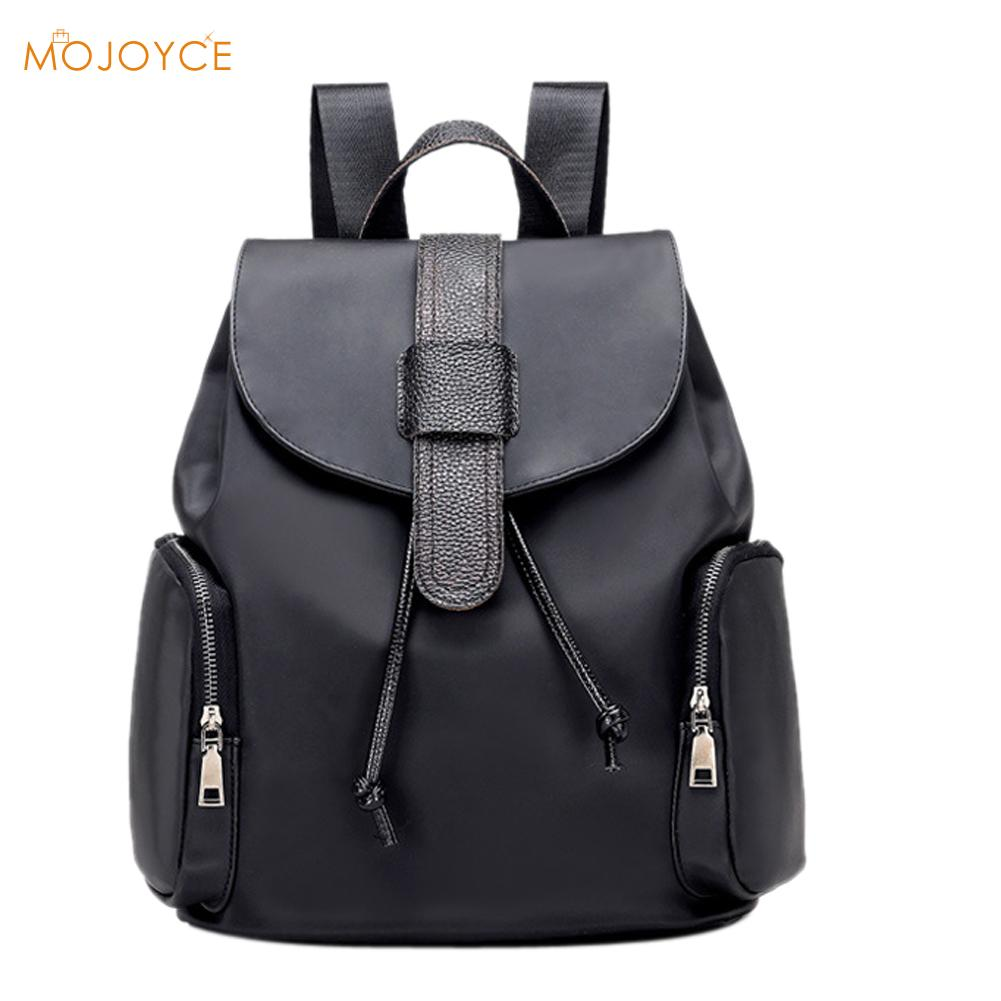 New Waterproof Nylon Backpack Women Fashion Female Travel School Backpack Women School Bag for Teenagers Girls
