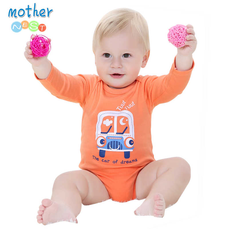 2018 Fashion Baby Bodysuits Infant Jumpsuit Long Sleeve Baby Clothing Set Summer Christmas Baby Girl Clothes Baby Girl Bodysuit
