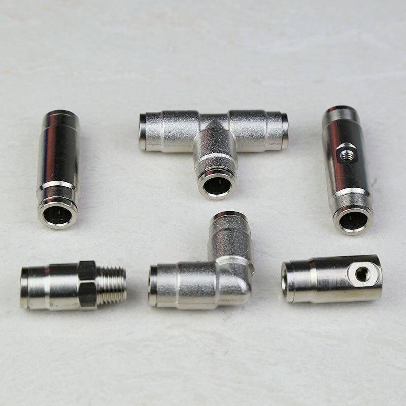 Бесплатная доставка (50 шт./лот) 9,52 мм водопроводная Соединительная труба, Трубное соединение для Туманная система охлаждения, быстрый разъе