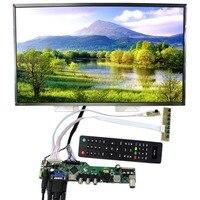 ТВ HDMI VGA AV USB ЖК дисплей Управление доска с 17,3 дюймов 1920x1080 LP173WF1 TL ЖК дисплей Экран