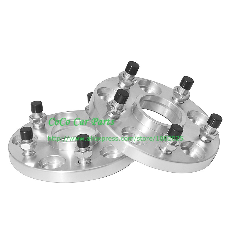 2 Pcs Hub Centric Wheel Spacers 5X114 3 5X4 5 67 1 CB 20MM For Evo