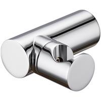 Chrome plated solid brass shower head holder wall mounted round bidet sprayer support 360 degree rotation Shower accessories