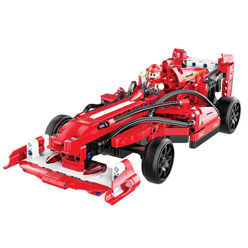 317 pièces Champion de vitesse formule F1 course RC voiture Compatible Legoing Technic blocs de construction briques classique figurine modèle jouet
