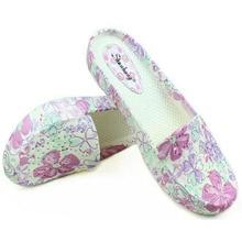 Floral de Las Mujeres Zapatos de Baile de Los Planos de Las Señoras Zapatos Planos Ocasionales Mujer Zapatos Moda Zapatos Suaves Para Mujer Más Tamaño