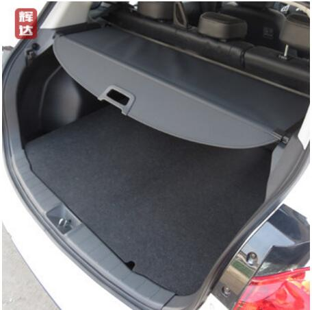 Car Rear Trunk Security Shield Shade Cargo Cover For Mitsubishi ASX 2013 2014 2015 2016 (Black,beige) car rear trunk security shield shade cargo cover for honda fit jazz 2004 2005 2006 2007 black beige