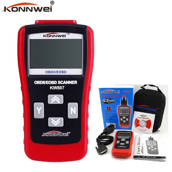 Auto Code Reader Scanner OBDII KW807 Scanner Car Computer Vehicle Diagnostics Tool GS500 Auto Code reader