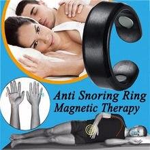Anel de acupressão anti-ronco, terapia magnética, tratamento de acupressão para ronco, dispositivo de tratamento anti-ronco