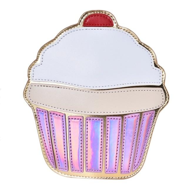 3c862fecd927b New design fashion personality cute ice cream cake shape color mini clutch  handbag shoulder bag ladies messenger bag packet