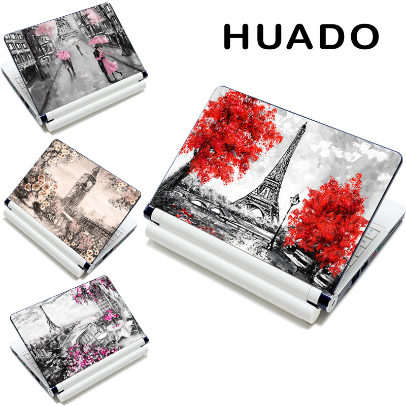 Nieuwe collectie laptop skin universele laptop skin sticker sticker voor hp / acer / dell / asus / sony 10 13 13,3 15 15,4 15,6 17 17,3