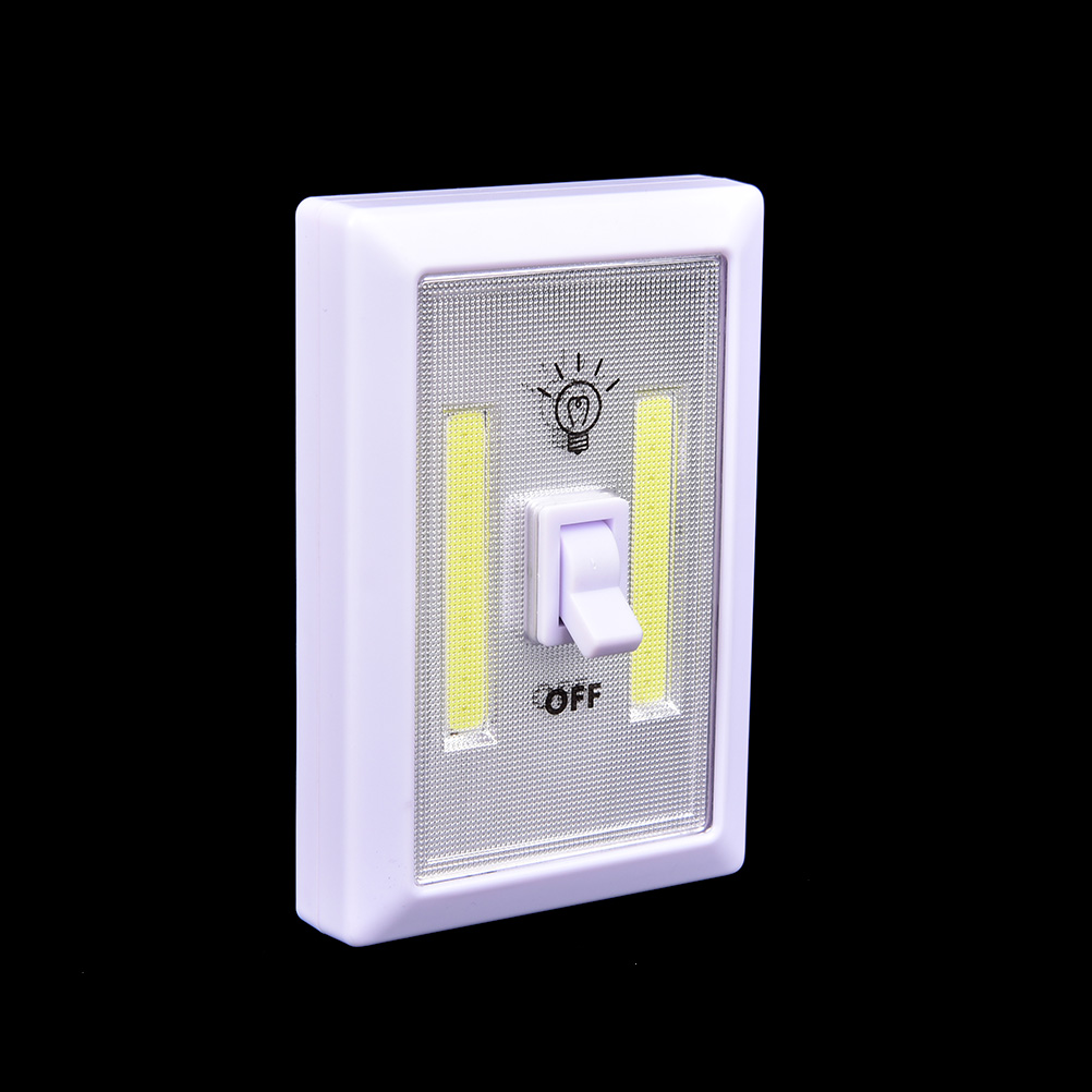 LED Cordless Lamp Switch Wall Night Lights Emergency Light Battery Operated Kitchen Cabinet Garage Closet Camp