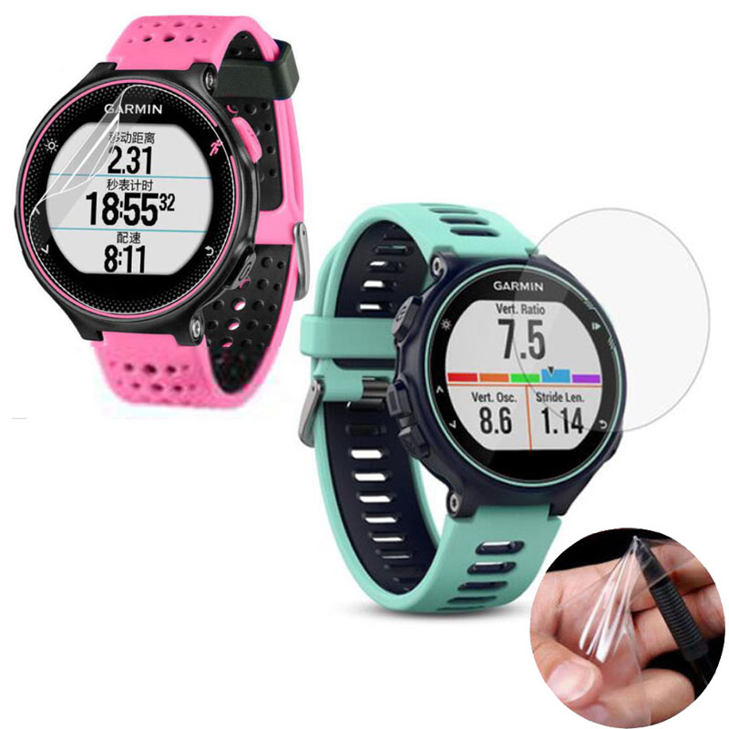 3pcs Soft Clear Protective Film For Garmin Forerunner 245 220 225 230 235 620 630 645 735XT 935 945 Watch Screen Protector Cover