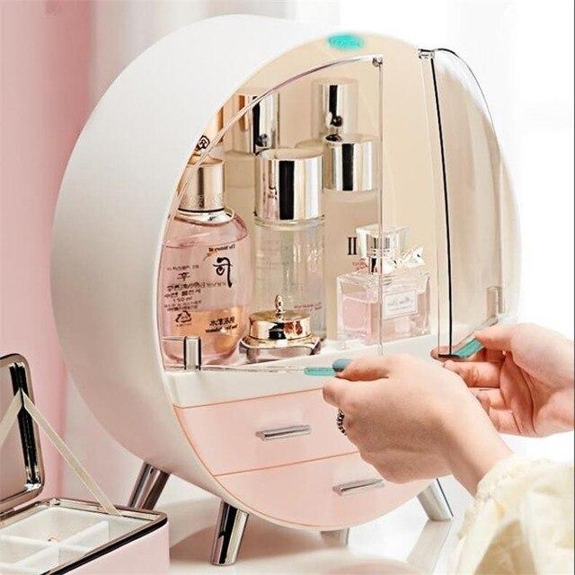Home Fashion Drawer Makeup Storage Box Bathroom Brush Lipstick Holder Desktop Acrylic Jewelry Cosmetic Skin Care Organizer Rack 1